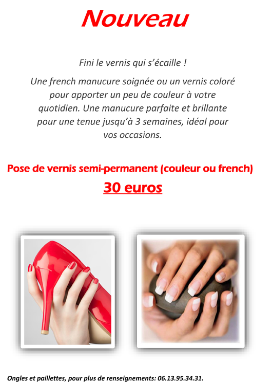 Vernis semi permanent Belle&Nature Trept